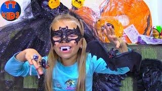 Шопинг на Хэллоуин с Ярославой | Shopping for Halloween Costumes kids playtime
