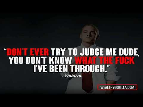 Best quotes from the rap god - Eminem best motivational quotes 💪