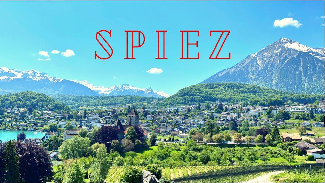 Switzerland 🇨🇭 Spiez a pearl on Lake Thun