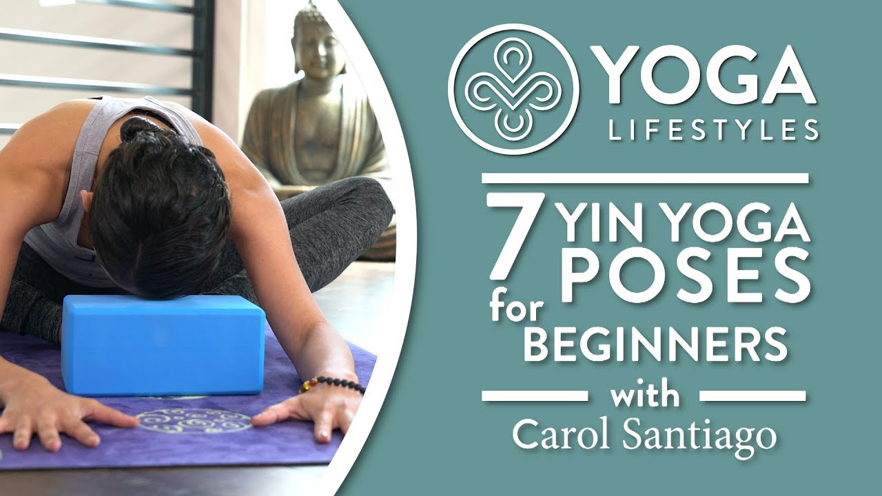 Restorative Yoga For Beginners 7 Yin Poses For Relaxation Destressing Restoration Youtube
