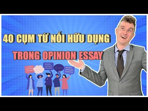 40 Cụm Từ Nối Hữu Dụng Trong Opinion Essay || Luyện Thi IELTS Online Hiệu Quả