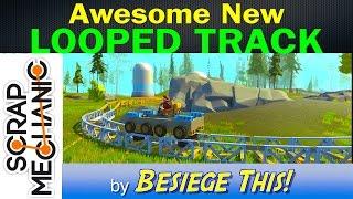 Looped Train Track