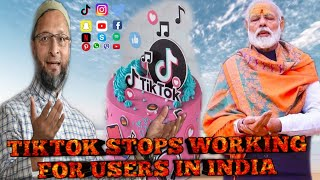 Will Tik Tok Unblock? TikTok Stops Working For Users In India; alert shows working with India govt