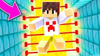 Minecraft: ARMADILHA DO LASER DE DIAMANTE TROLL !! (Armadilhas Troll)