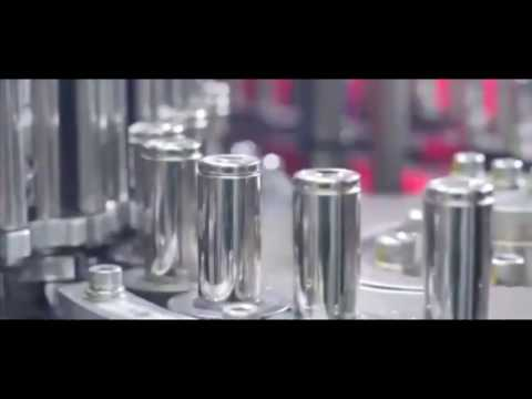 Tesla Gigafactory 2170 cell production: Faster than bullets from a machine gun!