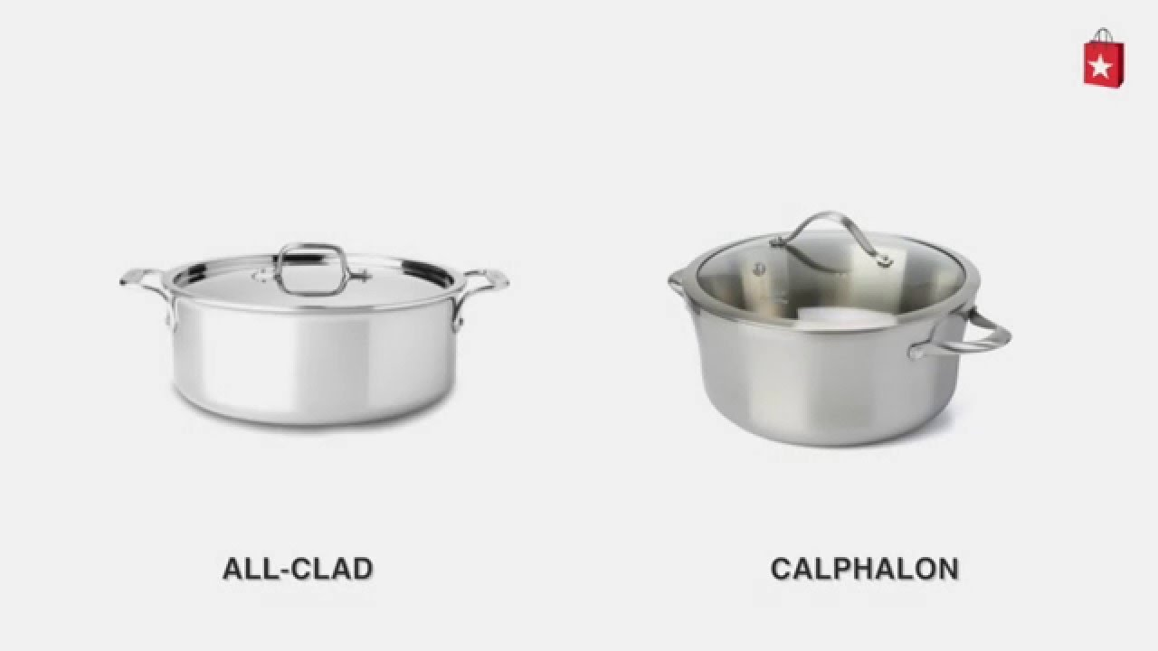 calphalon stainless steel 65 qt covered soup pot comparison video