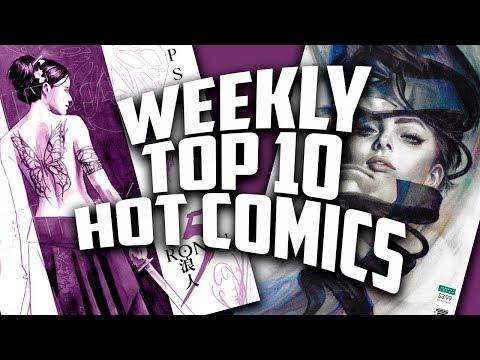 Hot Top 10 Comic Books On The Rise - JAN (Week 3) 2019