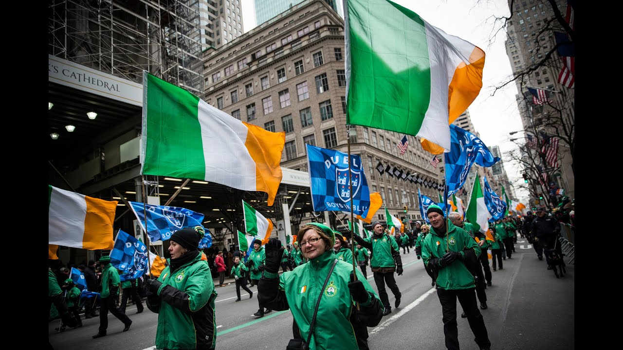 St. Patrick39;s Day Parade 2015  YouTube