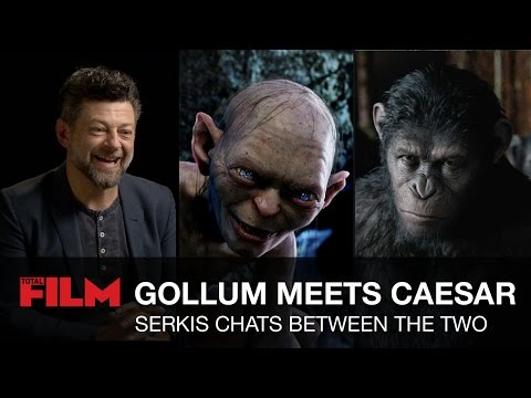 Thumbnail: Caesar Meets Gollum: Andy Serkis Chats Between the Two