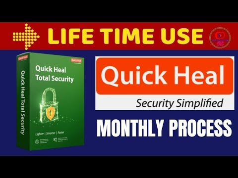 How To Activate Quick Heal Total Security Lifetime 2019 || Quick Heal Antivirus Lifetime Activation