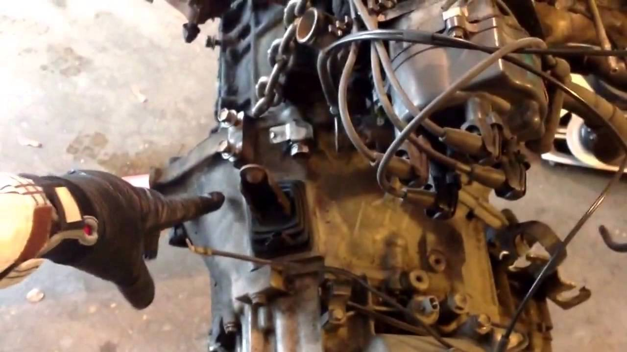 hight resolution of 1994 toyota tercel engine rebuild 14 remove manual transmission housing from engine