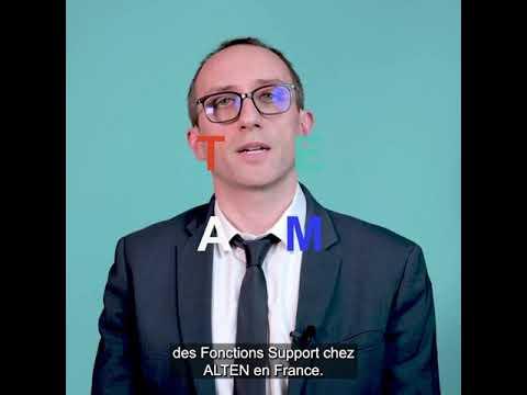 L' alternance chez ALTEN, par Sébastien Nouvelon, Directeur Développement RH Fonctions Support