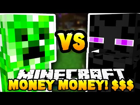 Minecraft - CREEPER vs ENDERMAN (Monster Industries!) - w/ THE PACK!