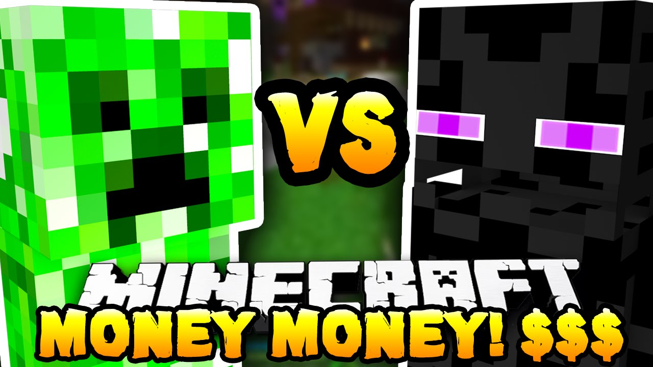 minecraft - creeper vs enderman  monster industries   - w   the pack