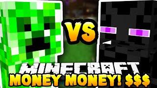 Minecraft - CREEPER vs ENDERMAN (Monster Industries!) - w/ THE PACK!