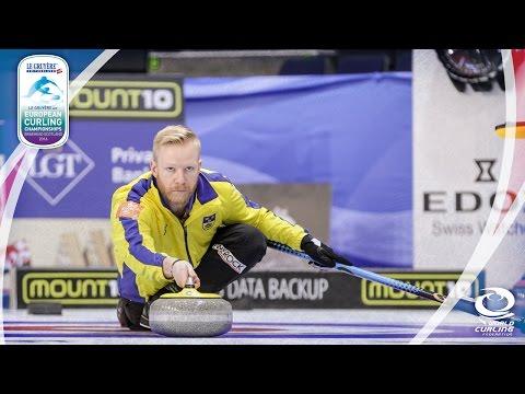 Norway v Sweden (Men) - Le Gruyère AOP European Curling Championships 2016
