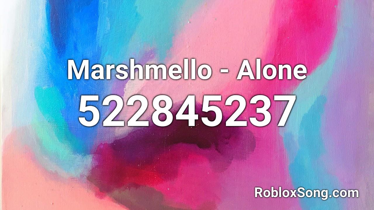 Marshmello Alone Roblox Id Roblox Music Code Youtube