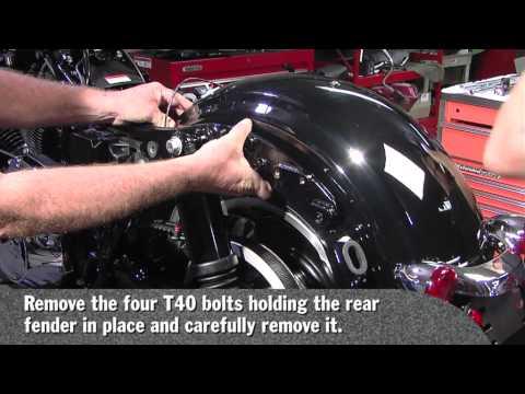 BIKER'S CHOICE PT1 Drop Seat Kit Install