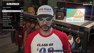 GTA Online Gunrunning: Black Vom Feuer Hat! June 13-19 2017