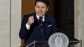 """Джузеппе Конте: """"Мы построим новую Италию!"""""""