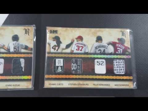 2016 Hits Memorabilia Royalty Case Break (3 boxes) for Mike #SupportYourLCS
