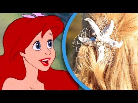 Ariel DIY Starfish Headpiece