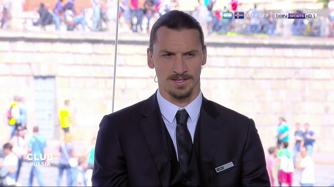 """Zlatan Ibrahimovic  : """"Un sélectionneur qui dit que Benzema nest pas assez bon na rien à faire ici"""""""