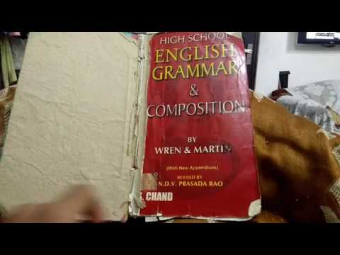 New English Grammar & Composition By Wren and Martin  From