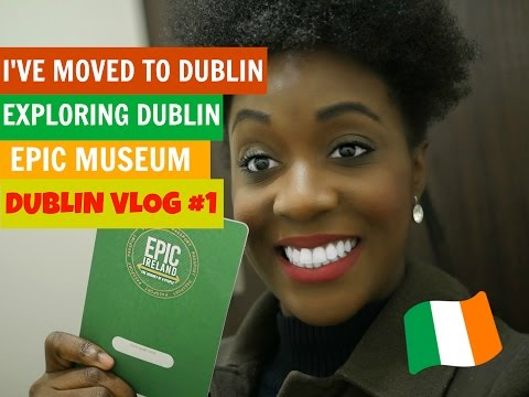 I'VE MOVED TO DUBLIN / EXPLORING DUBLIN (DUBLIN VLOG #1)