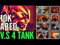 ABED RIP the 4 TANKER Ember Spirit Godly Gameplay Dota 2