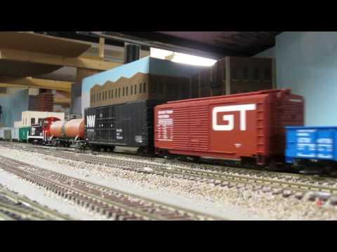 Grand Trunk Western Railroad runby.