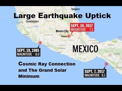 Powerful Earthquake Strikes Mexico - Cosmic Rays - Earthquakes and Volcanic Eruptions