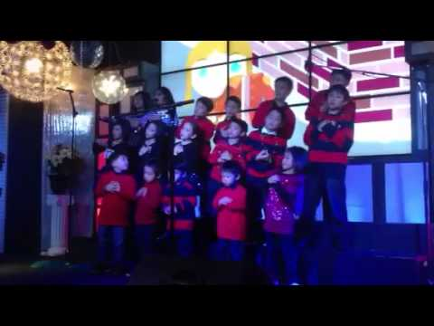 Ifgf la children ministry Christmas musical choir