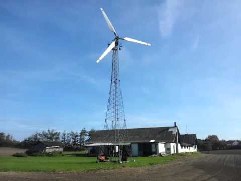 Old wind turbine in Denmark
