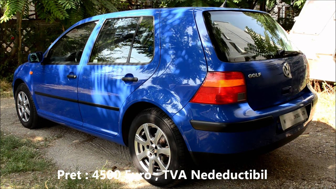 vw golf 4 1 6 benzina 101cp 1998 inovauto youtube. Black Bedroom Furniture Sets. Home Design Ideas