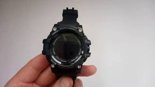 Як включити годинник Skmei 1188 і як вимкнути смарт годинник Skmei 1188