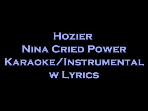 Hozier Mavis Staples - Nina Cried Power KaraokeInstrumental w