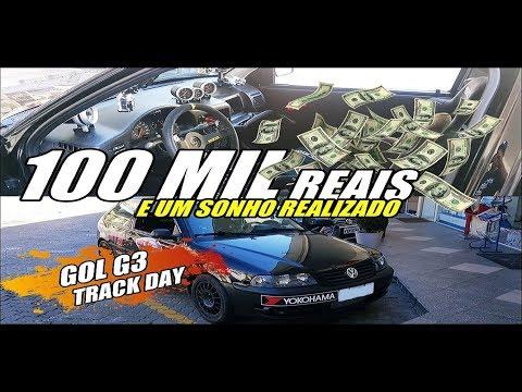 DAILY VLOG - 100 Mil reais e um sonho realizado - Gol G3 Track Day do Murta