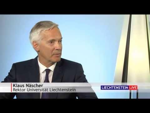Liechtenstein LIVE mit Klaus Näscher - Universität Liechtenstein