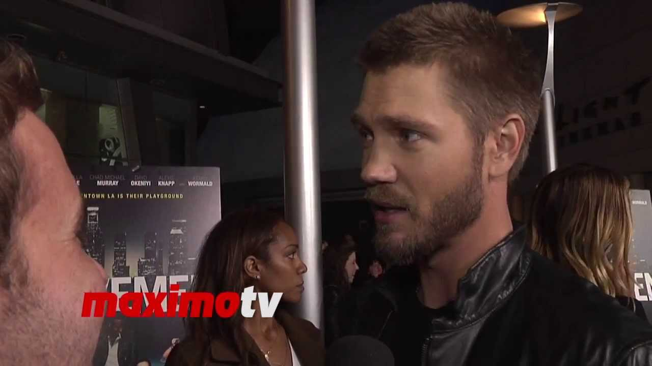 Chad Michael Murray youtube interview
