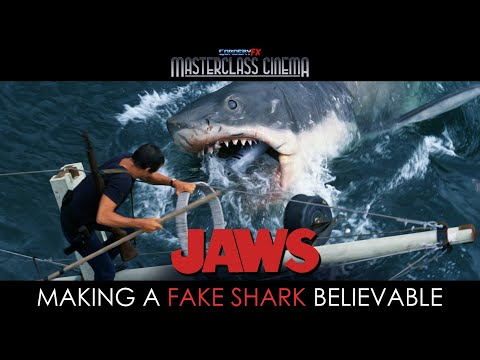 JAWS (1975) -  Making a Fake Shark Believable l Ft. @Please Rewind
