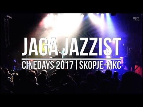 Jaga Jazzist - Live @ Cinedays (23.11.2017)   Skopje   Macedonia   MKC