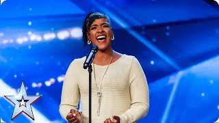Leanne Mya's touching performance | Auditions | BGT 2019