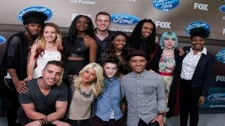 American Idol Season 14 Finalists Party Arrivals - American Idol 2015