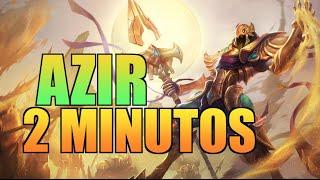 AZIR 2 MINUTOS | Parodia League of Legends
