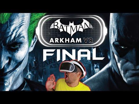 EL JOKER REGRESA (FINAL) | Batman Arkham VR - Playstation VR