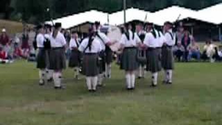 MacIntosh Pipe Band Big Medley at Enumclaw 2008
