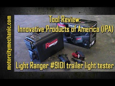 Innovative Products of America 9101 Light Ranger MUTT Trailer Light Tester