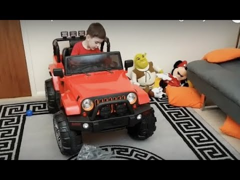 Ride On Trailcat Jeep Car For Kids Toy Review Youtube