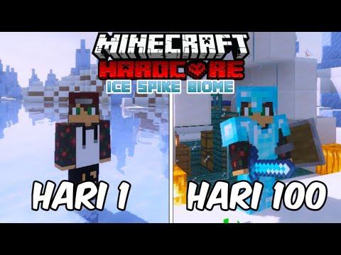 100 Hari Di Ice Spike Minecraft Hardcore